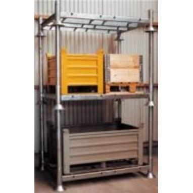 Manurack simple : rack modulable et superposable