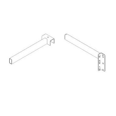 Séparateur tube pour rayonnage vertical