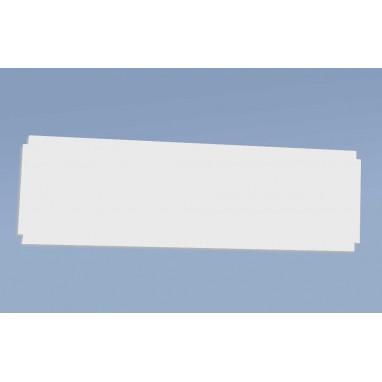 Isobois laqué blanc pour tablettes