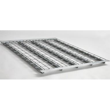 Platelage fil zingué 5 renforts + cornières