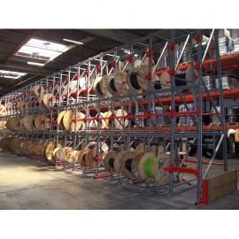 Stockage de tourets et de câbles