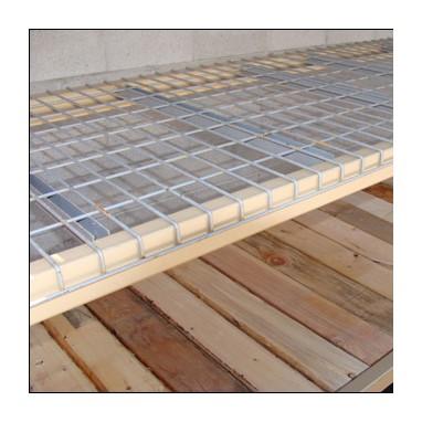 Plancher sapin pour stockage palette
