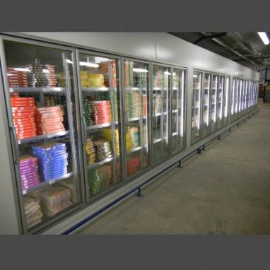 Rayonnage pour milieu frigorifique