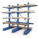 Stockage horizontal cantilever